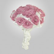 PF-340 Lavander Rose Wedding Bouquet
