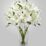 WD-830 - Casa Blanca Lillies in Vase