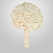 PF-360 Ivory Rose Wedding Bouquet