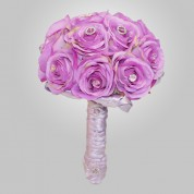 SF-560 Lavander Rose Wedding Bouquet
